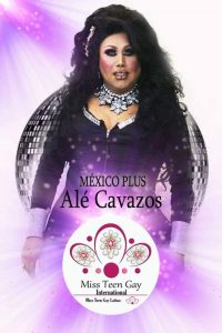 Alè Cavazos Miss Plus Gay International - Edición 2018
