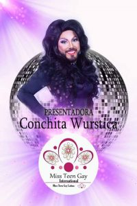Conchita Wurstica - Presentatrice del Miss Teen Gay International 2018