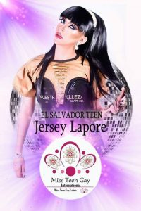 Jersey Lapore Miss Teen Gay International - Edición 2018